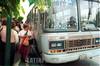 Costa Rica - San Jose : Transporte . colectivo. / Transport./ Costa Rica. San Jose: Verkehr. Bus. öffentlicher Vekehr. /<br /> <br /> German Falke/LATINPHOTO.org