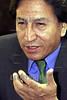 Peru :  Alejandro Toledo presdiente del pais en entrevista el 22 de Noviembre de 2001 . / Peru: President Alejandro Toledo. / Peru: Portrait des peruanischen Präsidenten Alejandro Toledo. <br /> <br /> © Niceforo Ruiz/LATINPHOTO.org