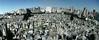 Argentina-Buenos Aires : vista general cementerio en Recoleta . / survey churchyard. cemetery. burial ground. / Argentinien: Panoramaübersicht auf den Friedhof Recoleta. Gräber. Im Hintergrund die Innenstadt. Centro. / © Patrick Lüthy