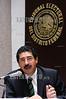 Mexico : Magistrado ,  Estuardo Mario Bermudez, durante la Sesion del Tribunal Electoral del D.F . Mexico D.F. 10 de Noviembre del 05. © Guillermo Perea/LATINPHOTO.org