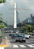 Argentina : trafico en la avenida 9 de Julio . obelisco. / traffic on the avenida 9 de julio with obelisk. / Argentinien: Verkehr auf der Strasse 9 de Julio mit Obelisk. /<br /> <br /> © Pablo Leporati/LATINPHOTO.org