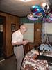 dad, balloons, card