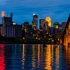 Minneapolis Riverfront at Dusk