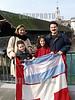 Argentina : repatriarse  / Argentina: repatriate / Argentinien: Aus Argentinien in die Schweiz zuruckgekommen: Miguel und Marie-Therese  Silva - Scharer mit Diana und Patricio.  Im Hintergrund die Oltner Altstadt. <br /> <br /> © Patrick Lüthy/LATINPHOTO.org