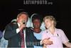 Rio de Janeiro : La gobernadora Benedita da Silva (C) Luiz Inacio lula da Silva (I)y Marta Suplicy (D)  / Brazil - Rio de Janeiro: Governor Benedita da Silva.  (M) - Luiz Inacio lula da Silva (I)and Marta Suplicy (R) / Brasilien: Benedita da Silva: Erste schwarze Gouverneurin in Rio de Janeiro. Links: Präsidentschaftskandidat: Luiz Inacio lula da Silva. Rechts: Marta Suplicy.<br /> © Vanor Correia/LATINPHOTO.org
