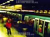 Chile :  Santiago de Chile, Chile .  Estacion del Metro de Santiago / Chile: metro / Chile: metro. Untergrundbahn. © Carlos Castillo/LATINPHOTO.org