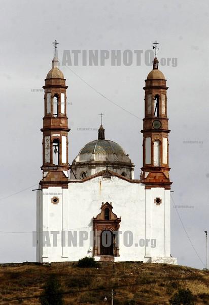 Mexico :  Municipio de Vetagrande, Zacatecas. Templo del Calvario. Iglseia. / Calvario's Church. / Mexiko: Kirche in Vetagrande. ©  Amadeo Velazquez/LATINPHOTO.org