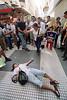 Argentina (15.12.2002) :  Nuevamente ahorristas protestaron contra los bancos, generando inconvenientes en la zona centrica de la ciudad. mujer. desesperanza. / Argentina: New protests in Buenos Aires. protest against the crisis in Argentina. middle class. despair. / Argentinien - Buenos Aires: Argentinier aus der Mittelklasse demonstrieren gegen die Sperrung der Konten. Verzweifelte Frau.<br /> ©  Alberto Raggio/Betha/LATINPHOTO.org