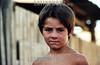 Chile - Santiago :  Zona pobre de Santiago de Chile. nino. / Chile: slum. poverty. child. / Chile: Armut in einem Slum am Stadtrand von Santiago. Kind.  ©  Emiliano Thibaut/LATINPHOTO.org