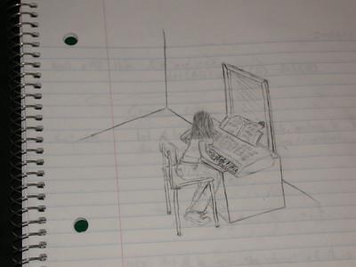 My boredom in math class