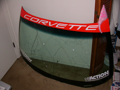 c5r windshield from petit lemans