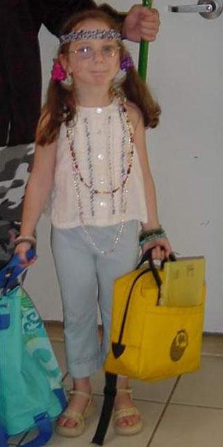 halloween 2001 (she's a hippie)