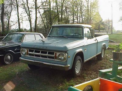 everlasting '69 dodge truck
