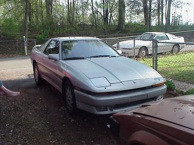 the silver turbo 5spd he was selling