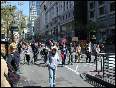 2003/03/20 Anti-War Rally in San Francisco