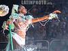 Members of the Unidos da Tijuca Samba School perform in the Sambadrome for the  during the second night of the first division parades in Rio de Janeiro .<br /> <br /> Miembros de la escuela de samba unidos da tijuca desfilan el en Sambodromo para durante la segunda noche de los desfiles de primera division.<br /> <br /> © Douglas Engle/LATINPHOTO.org  (B/W)