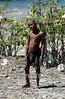 Haiti - Mal Pass (7/12/2002)  : Un nino haitiano en la localidad de Mal Paso . / Haiti - Badly Pass : An Haitian boy in the locality of Mal Passo. / Haiti : Schwarze Bevölkerung. Kind.<br /> © Orlando Barria/LATINPHOTO.org