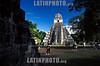 Guatemala  : Piramides Maya en Tikal . ruinas. arqueologia. templo II.  / Guatemala : Maya Pyramids in Tikal. ruins. archaeology. / Guatemala : Maya Pyramiden bei Tikal. Ruinen. Grabstätte der Maya - Kultur.<br /> © Alvaro Gaviria/LATINPHOTO.org<br /> (NO ARCHIVAR-NO ARCHIVE-ARCHIVIERUNG )