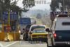 Mexico - Toluca  : A un dia de que concluya el periodo vacacional de Navidad vacacionistas iniciaron el retorno a sus hogares observandose incrementado el aforo vehicular en las autopistas Morelia-Toluca y Toluca-Mexico . / Mexico : Traffic. / Mexiko: Gebührenpflichtige Autobahn. Strasse. Autos. Verkehr.<br /> © Mario Vazquez de la Torre/MVT/LATINPHOTO.org
