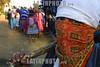 Mexico : Habitantes de este poblado de la sierra poblana tienen  el pueblo bloqueado en demanda de servicios y la liberacion de sus companeros detenidos pertenicientes a la union cacional anahuac (una) . Y de no haber solucion se declararan municipio autonoma en proximos dias. Foto: juan carlos rojas. / Mexico : roadblock. barrage. protest. / Mexiko: Strassenblockade. Ein vermummter Demonstrant.<br /> © Juan Carlos Rojas/LATINPHOTO.org