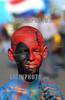 Republica Dominicana  : cientos de miles de personas desfilaron por el malecon, celebrando en carnaval dominicano . La gente  preparo sus mejores disfraces para esta ocasion. / Dominican Republic : hundreds of thousands of people marched past by malecon, celebrating in carnival dominicano.The  people  prepare their better disguises for this occasion. mask. / Dominikanisches Republik : Karneval. Umzug. Farben. Kind.<br /> © Orlando Barria/LATINPHOTO.org<br /> ()