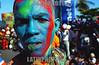 Republica Dominicana  : cientos de miles de personas desfilaron por el malecon, celebrando en carnaval dominicano . La gente  preparo sus mejores disfraces para esta ocasion. / Dominican Republic : hundreds of thousands of people marched past by malecon, celebrating in carnival dominicano.The  people  prepare their better disguises for this occasion. mask. / Dominikanisches Republik : Karneval. Umzug. Farben. Gesicht. Geschminkt.<br /> © Orlando Barria/LATINPHOTO.org<br /> ()