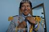Mexico : Inicio el carnaval de huejotzingo puebla en donde se queman toneladas de polvora detonada en rusticos arcabuses y los trajes tipicos se entrelazan con la modernidad . Jose Mendez Mendez con el traje con que  realizara el papel de general de los batallones del carnaval. / Mexiko: Karneval in Huejotzingo. Jose Mendez Mendez verkleidet sich als Kommandant für den Karneval.<br /> © Juan Carlos Rojas/LATINPHOTO.org