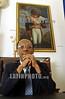 Haiti - Puerto Principe (07 .09.2002)  : Presidente Jean Bertrand Aristide en el Palacio Nacional, sede del gobierno de Haiti. / Haiti : President Jean Bertrand Aristide in the National palace, seat of the government of Haiti. / Haiti : Präsident Jean Bertrand Aristide.<br /> © Orlando Barria/LATINPHOTO.org<br /> ()