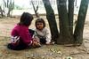 Paraguay : Ninos indigenas . Comunidad NEPOXEN del chaco paraguayo. / Paraguay : indigenous. children. / Paraguay : Indigene ethnische Bevölkerung im Chaco. Kinder. Mädchen.<br /> ©  Amadeo Velazquez/LATINPHOTO.org