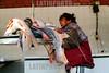 Paraguay : vendedora de pescado , Mercado de Abasto .Balanza.Pesar. Mujer. / Paraguay : fish market. seller. woman. weight. / Paraguay : Fischmarkt in Asuncion.<br /> ©  Martin Crespo/LATINPHOTO.org<br /> ()
