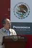 Mexico: Felipe Calderon Hinojosa presidente de la republica inauguro la primera Semana Nacional de Salud en el hospital de especialidades del Nino y la Mujer , Queretaro . / Mexiko: Der mexikanische Präsident Felipe Calderon Hinojosa. ©  Demian Chavez/LATINPHOTO.org