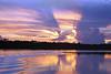 Brasil , Amazonia: Puesta de solen el rio Amazonas, Agosto 2003 /Brazil: Sunset at Amazonas river . Dawn. / Brasilien : Amazonas.  (DIGITAL IMAGE)<br /> © Angelo Lucas/LATINPHOTO.org