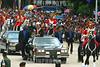 Venezuela (24/06/2003): El Presidente Hugo Chavez Frias asistio a los actos conmemorativos en el Dia del Ejercito Venezolano . / Venezuela: The President Hugo Chavez Frias , attended to the commemorative act on the Day of the Venezuelan Army. / Venezuela : Hugo Chavez während einer Militärparade. Tag der Armee.<br /> ©  Enrique Hernandez/LATINPHOTO.org<br /> (NO ARCHIVO NO ARCHIVE-ARCHIERUNG VERBOTEN!)