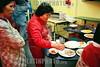 Argentina: Una mujer prepara comida china en el barrio chino de la ciudad de Buenos Aires . Comida. Cultura. Inmigracion. /Argentina: A woman prepares food in a Chinese restaurant in Buenos Aires' Chinese neighbourhood.<br /> ©  Gisela Romio/LATINPHOTO.org