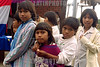 Paraguay : Ninos indigenas en la escuela . Comunidad NEPOXEN del chaco paraguayo. / Paraguay : indigenous. children. / Paraguay : Indigene ethnische Bevölkerung im Chaco. Kinder. Mädchen.<br /> ©  Amadeo Velazquez/LATINPHOTO.org