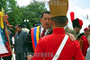 Venezuela (24/06/2003): El Presidente Hugo Chavez Frias , asistio a los actos conmemorativos del Dia del Ejercito Venezolano . / Venezuela: The President Hugo Chavez Frias, attended the commemorative act on the Day of the Venezuelan Army. / Venezuela : Hugo Chavez während einer Militärparade. Tag der Armee.<br /> ©  Enrique Hernandez/LATINPHOTO.org<br /> (NO ARCHIVO NO ARCHIVE-ARCHIERUNG VERBOTEN!)