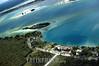 Mexico: Vista aerea de la Laguna de Bacalar , conocida como la laguna de los 7 azules . Quintana Roo. / Mexico: tourism. / Mexiko: Die Lagune von Bacalar. Tourismus. Naturparadies. Ferien. Urlaub. ©  Rolando Cordoba/LATINPHOTO.org