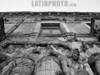 Argentina - Buenos Aires (08/10/2003) la boca . fachada de un edificio antiguo / Argentina : la boca. old building. / Argentinien  Statuen bei einer alten Fassade im ehemaligen Hafenviertel La Boca.<br /> ©  Maria Menegazzo/LATINPHOTO.org