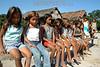 Brasil: ninos deni . Amazonas. / Brazil: children. girls. Deni tribe indians. indigenous. ethnic minority. autochthons. / Brasilien : Indigene Kinder der Deni - Indianer. Urbewohner. Ethnische Minderheit im Amazonas - Gebiet.<br /> ©  Angelo Lucas/LATINPHOTO.org