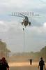 Venezuela (24/06/2003): Desfile militar en el Dia del Ejercito Venezolano en el Campo de Carabobo . paracaidas. Fuerzas Armadas. Politica. Sociedad. Helicoptero. / Venezuela : Militar Parade in the Day of the Venezuelan Army celebrated in the Field of Carabobo. Helicopter. / Venezuela : Truppenparade in  Campo de Carabobo. Tag der Armee. Militärparade.<br /> ©  Enrique Hernandez/LATINPHOTO.org<br /> (NO ARCHIVO NO ARCHIVE-ARCHIERUNG VERBOTEN!)