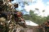 Venezuela (24/06/2003): Desfile militar en el Dia del Ejercito Venezolano en el Campo de Carabobo . paracaidas. Fuerzas Armadas. Politica. Sociedad. camuflaje. / Venezuela : Militar Parade in the Day of the Venezuelan Army celebrated in the Field of Carabobo. camouflage suit. combat suit. / Venezuela : Truppenparade in  Campo de Carabobo. Tag der Armee. Militärparade. Soldaten in Tarnanzügen. Gewehre. Kampfbereitschaft. Militärs.<br /> ©  Enrique Hernandez/LATINPHOTO.org<br /> (NO ARCHIVO NO ARCHIVE-ARCHIERUNG VERBOTEN!)