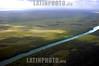 Mexico: Vista aerea del Rio Hondo , rio que divide Mexico con Belice por la capital de Quintana Roo, Chetumal . / Mexico: Hando River in Quintana Roo. / Mexiko: Der Fluss Hondo.<br /> ©  Rolando Cordoba/LATINPHOTO.org