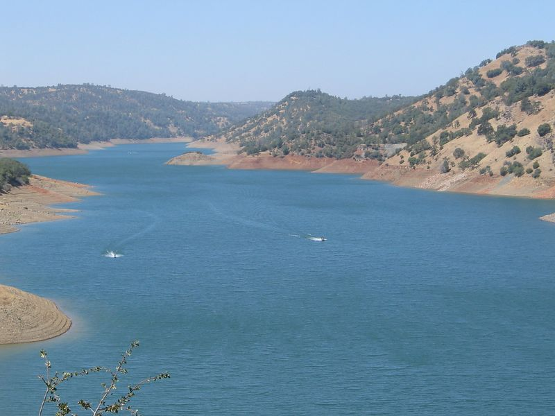 Lake Don Pedro looks like it needs some water. What drought?