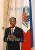 Haiti : Presidente Aristide en palacio nacional. / Haiti: President Jean Bertrand Aristide. / Haiti: Präsident President Jean Bertrand Aristide. © Pierre Evans/LATINPHOTO.org