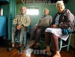 Brasil : Familia Nazari, descendentes dos primeiros imigrantes Italianos que chegaram ao Brasil em 1891. ( Nova Veneza- S.C. BR.). / Brasil: inmigrantes italianos en Brasil. jubilados. / Bra ...
