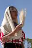 """Mexico : Da inicio la maxima fiesta del estado de Oaxaca la Guelaguetza, vocablo zapoteca que significa """"ofrenda"""" donde todas las regiones del estado se reunen en el cerro del fortin para deleitar ala gente local e internacional de los bailables unicos de cada una de sus comunidades. En la imagen una nina baila el Jarabe Chatino. / Mexico: indigenous dancers during a festival in Guelaguetza. / Mexiko: Indigene Tänzer während eines Festivals in Guelaguetza. © Jorge Luis Plata/LATINPHOTO.org"""