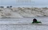 """Brasil : Surfista brasileno Sergio Laus nada para pegar una ola de la marea, conocido como pororoca, en el rio Araguari, en el estado norteno de Amapa, Brasil. La pororoca de Araguari es posiblemente el mas peligroso de todos los ondas de marea de la amazonia, temido por los residentes locales para el estrago que causa. Las ondas llegan a la altura de en 2 a 3 metros y alcanza velocidades entre 30 a 50 kilometros por hora. Para cogerlo, las surfista deben saltar de una lancha quando la onda sube el rio. Puesto que la onda ocurre solamente dos veces por el dia, cuando la marea entrante del oceano invierte el flujo del rio, no hay muchas ocasiones de cogerlo. La palabra """"pororoca"""" viene de las palabras de dialecto de las indigenas amazonenses """"poroc poroc"""" que significa  """"destructor"""" o """"gran rafaga"""" Desde el tiempo inmemorial, la gente ha temido el rugido que precede. / Brazil: Brazilian surfer Sergio Laus swims to the approaching tidal bore wave, known as pororoca, on the Araguari River, in Brazil's northern state of Amapa. The Araguari pororoca is possibly the most dangerous of all the Amazonian tidal bores, long feared by locals for wreaking havoc on their communities. wave crests at 2 to 3 meters and races at speeds between 30 to 50 kilometers per hour.  To catch it, surfers must leap from a motorboat as the wave barrels upriver. Since the wave only occurs twice per day when the incoming ocean tide reverses the river flow for a time, there are not many chances to catch it,  The name """"pororoca"""" comes from an Amazonian indigenous dialect meaning """"destroyer"""" or """"great blast.""""  Since time immemorial, people have feared the roar which precedes the wall of water that capsizes boats and washes away anything in its path. Now, however, the people are less fearful and have begun to see the wave as a potential tourist attraction that could generate money in of one of the poorest states of Brazil. / Brasilien: Surfer in der Region des Araguari - Flusses im Norden von Amapa."""