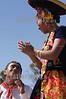 """Mexico : Da inicio la maxima fiesta del estado de Oaxaca la Guelaguetza, vocablo zapoteca que significa """"ofrenda"""" donde todas las regiones del estado se reunen en el cerro del fortin para deleitar ala gente local e internacional de los bailables unicos de cada una de sus comunidades. En la imagen la region del Istmo de Tehuantepec presenta su famosa Sandunga. / Mexico: indigenous dancers during a festival in Guelaguetza. / Mexiko: Indigene Tänzer während eines Festivals in Guelaguetza. © Jorge Luis Plata/LATINPHOTO.org"""