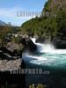 Chile : saltos de petrohue. cascadas. / Chile: saltos de petrohue. / Chile: Wasserfall bei petrohue. © Jennifer Ross/LATINPHOTO.org