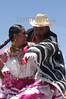 """Mexico : Da inicio la maxima fiesta del estado de Oaxaca la Guelaguetza, vocablo zapoteca que significa """"ofrenda"""" donde todas las regiones del estado se reunen en el cerro del fortin para deleitar ala gente local e internacional de los bailables unicos de cada una de sus comunidades. En la imagen se prensenta Santiago Pinotepa Nacional. / Mexico: indigenous dancers during a festival in Guelaguetza. / Mexiko: Indigene Tänzerinnen während eines Festivals in Guelaguetza. © Jorge Luis Plata/LATINPHOTO.org"""